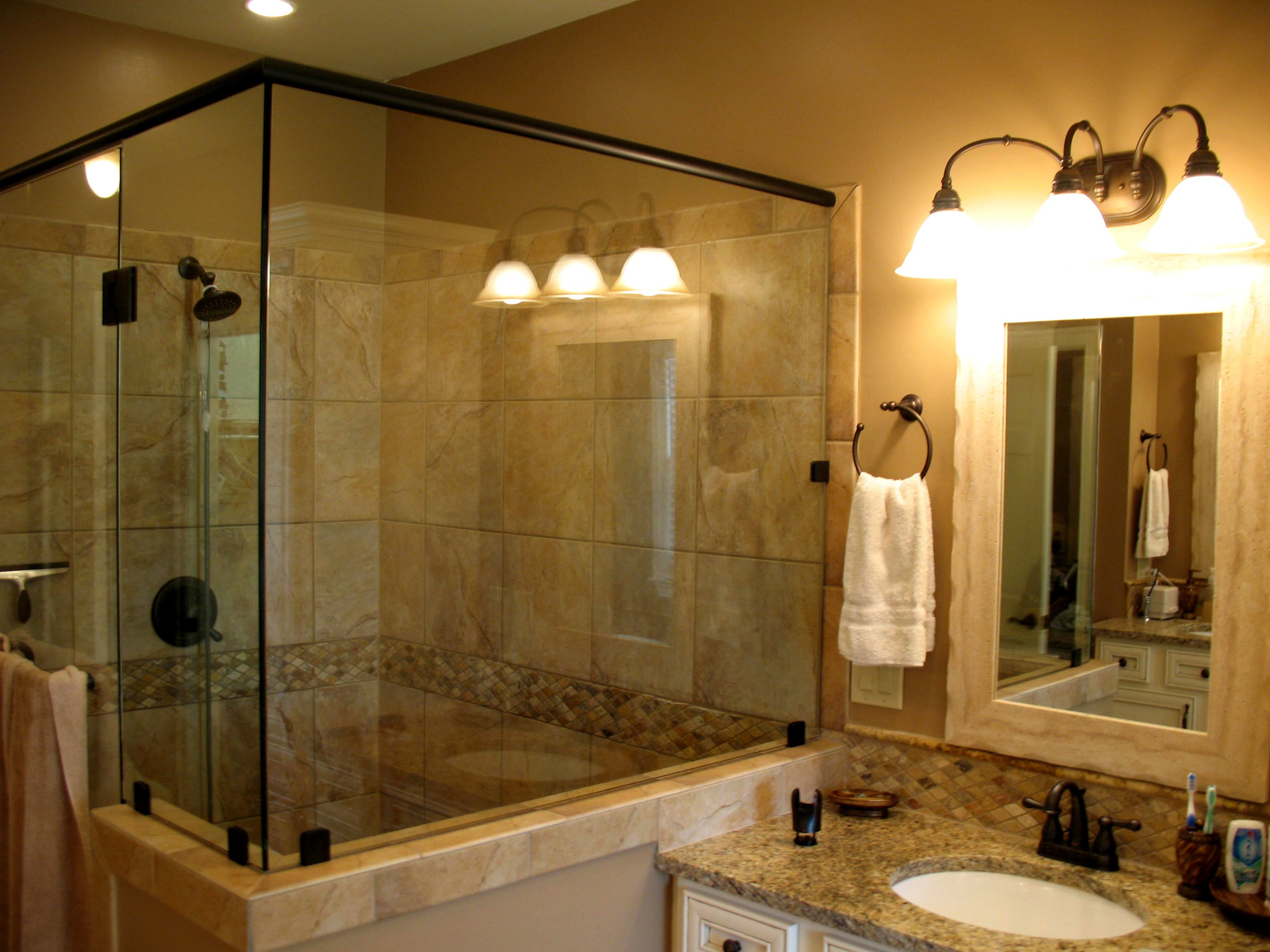 Bathroom remodel quinta contractors llc for Master bath pictures
