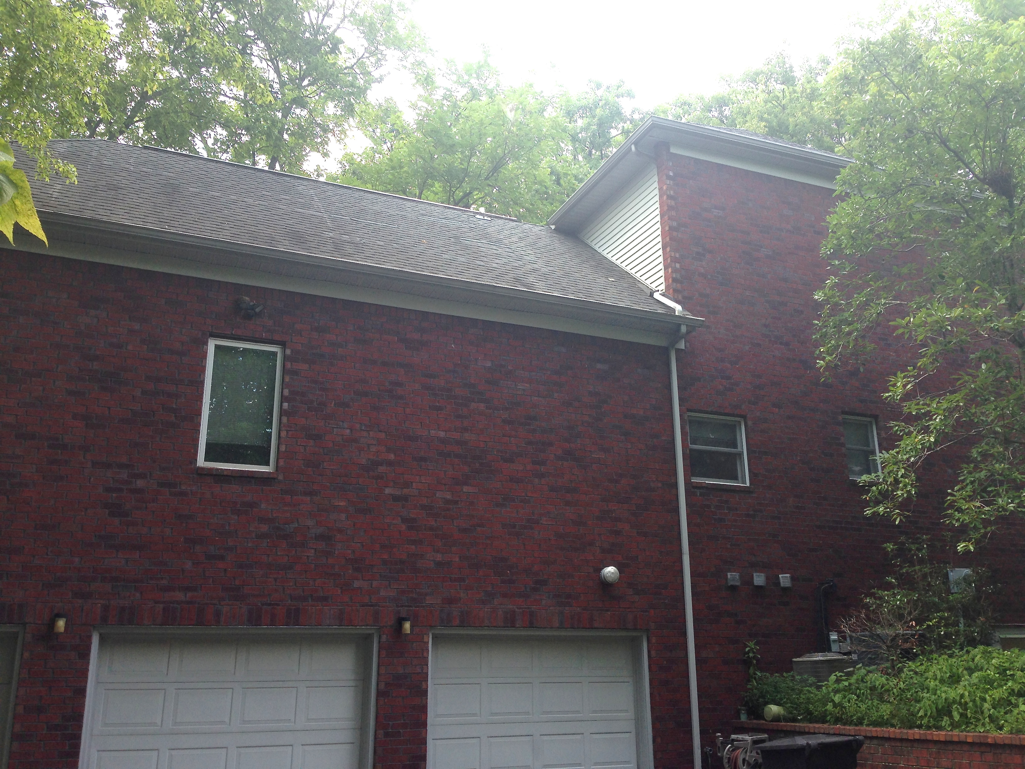 The 25 year old architectural shingles had aged to the point it was to replace.